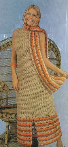 ladies dress crochet summer wear for ladies by EnglishCrochet, £1.20