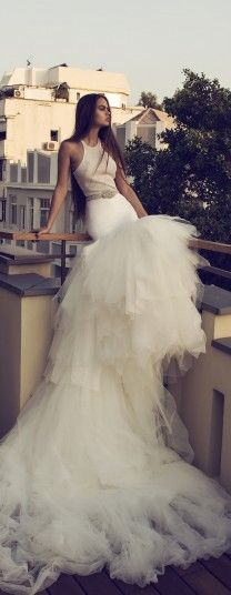Zahavit Tshuba 2016 Bridal Collection - Belle The Magazine