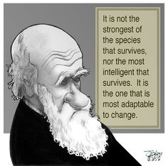 Charles Darwin - which kinda leaves out Homo Sapien. We adapt by killing everything else. Quotes By Famous People, All Quotes, Motivational Quotes, Inspirational Quotes, Mystery Meaning, Meaning Of Life, Darwin Quotes, Word Of Advice, Charles Darwin