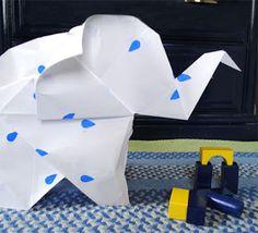 zakka life: DIY Oversized Origami Paper with Handmade Charlotte Stencils