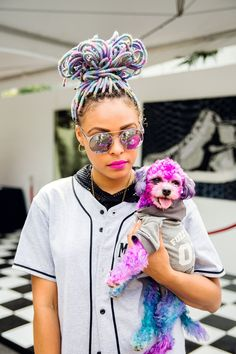 40 Afropunk Street Style Looks To Copy Now #refinery29  http://www.refinery29.com/2015/08/91360/afropunk-2015-music-festival-street-style-pictures#slide-2  Did this little puppy go to Ricky's, or what?...