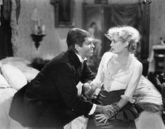 Frederic March and Miriam Hopkins. Dr. Jekyll and Mr. Hyde (1931).