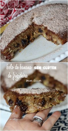 Bolo de banana de frigideira e sem glúten é fácil de fazer! - Bolo de banana de frigideira e sem glúten é fácil de fazer! – Monta Encanta Source by Sin Gluten, Healthy Candy, Around The World Food, Cupcakes, Sweet Cakes, Dessert Recipes, Desserts, Low Carb Keto, Gluten Free Recipes