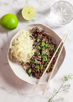 Näringsvärde 706 kcal, 64 g protein, 19 g fett, 66 g kolhydrater Deep Dish, Cauliflower Rice Risotto, Lunch Recipes, Healthy Recipes, Wellington Food, Asian Kitchen, Asian Recipes, Ethnic Recipes, Japanese Dishes