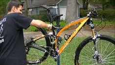 """How to quickly get a bike pretty clean without dis-assembly. NOTE: I now have a follow-up video to this called """"How to clean a bicycle in about 15 minutes Pa..."""