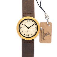 2017 BOBO BIRD Brand Wood Watch Women's Watches Bamboo Wood Wristwatch Female Clock Lady Quartz-watch as Gifts for Women D18-2 - Online Shopping for Watches