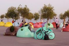 modern architecture for sea schores Urban Furniture, Street Furniture, Outdoor Furniture, Luxury Furniture, Urban Landscape, Landscape Design, Garden Design, Urban Intervention, Environmental Design