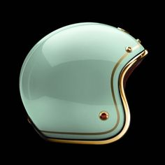 """Pavillon Tuileries - """"Contour"""" paint job, gold pinstripes on laquered green  paint, metal parts gold plated, gold trim."""