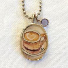 Love you a latte! #etsy by cieloazuljewel