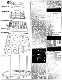Build your own Dalek! [blueprints]