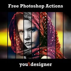 Free Photoshop Actions by YouTheDesigner
