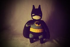 Maybe if I get super good, I can make boyfriend a little batman to keep on his desk at work