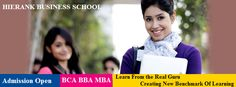 Admission Open for #MBA Program, AICTE Approved, Affiliated to UP Technical University Batch : 2014-2016  #BBA , #BCA , 3 YEAR FULL TIME, UGC APPROVED, AFFILIATED TO CCS UNIVERSITY  For more Details Visit our Website@ http://www.hierank.org/admissions.php or call @ 9650848777, 9910172577