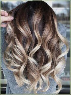 Brown Hair Balayage, Brown Blonde Hair, Hair Color Balayage, Brunette Hair, Ombre Hair, Black Hair, Long Brunette, Hair Color And Cut, Cool Hair Color