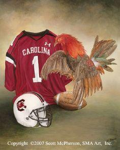 The University of South Carolina Gamecocks