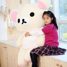Giant XXXL Korilakkuma bear plush. I need this. I don't know why, but I do!