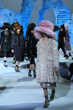 Marc Jacobs at fashion week!