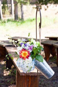 Photography: Janie Osborne Photography - www.janieoweddings.com  Read More: http://www.stylemepretty.com/2014/08/05/whimsical-west-yellowstone-wedding/
