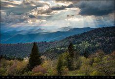 Dave Allen Photography   -    Smoky Mountains Light