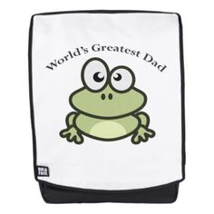 World's Greatest Dad Backpack - Xmas ChristmasEve Christmas Eve Christmas merry xmas family kids gifts holidays Santa