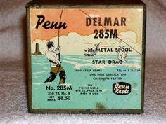 Amelia Island Fishing - Old Penn Reels - Squidder, Jigmaster, etc.