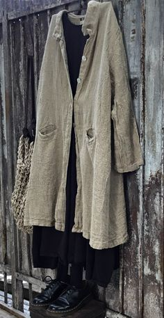 French Linen Coat MegbyDesign