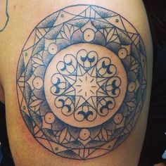 MANDALA MONDAY. Custom piece for a Gemini.  Mandalas booked on a Monday receive a special discount.