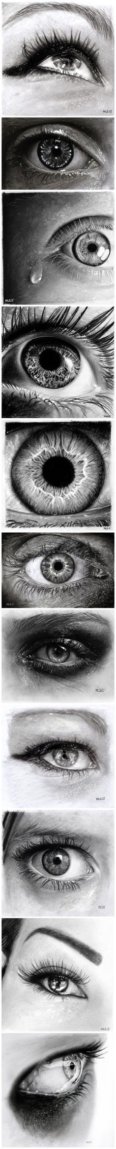 amazing eye drawings see: Art Ed Central