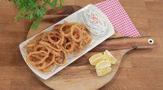 Arda'nın Mutfağı Çıtır Kalamar Tarifi 17.10.2015 Homemade Beauty Products, Fish And Seafood, Macaroni And Cheese, Waffles, Food And Drink, Breakfast, Ethnic Recipes, Foods, Waffle