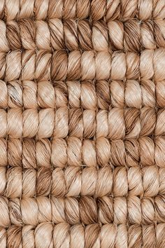 Zambales abaca rug in Coconut colorway, by Merida.