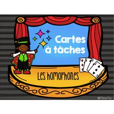 Cartes à tâches - Les homophones French Teacher, Teaching French, Les Homophones, French Grammar, France, Learn French, Teaching Tools, Task Cards, Say Hello