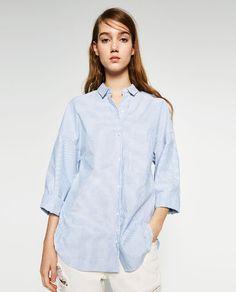 Image 4 of OVERSIZED SHIRT from Zara