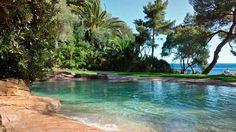 piscine naturelle ambiance bord de mer
