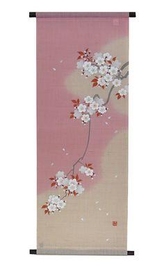 和風タペストリー・吉野桜