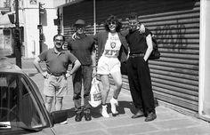 1992 Марк Коэн, Эдуард Лимонов, Наталья Медведева, Ярослав Могутин. Париж