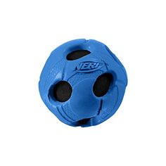 Nerf Dog XSmall Rubber Wrapped Bash Tennis Ball Blue Dog Toy *** To view further for this article, visit the image link. #DogChewToys