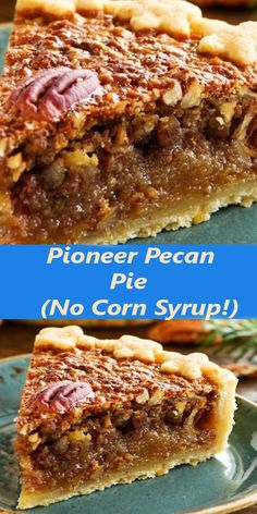 Pie Dessert, Cookie Desserts, No Bake Desserts, Just Desserts, Delicious Desserts, Pecan Recipes, Pie Recipes, Sweet Recipes, Baking Recipes