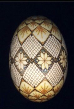 Pysanka Easter Egg by Mark E. Malachowski.