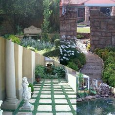 See 90 photos and 3 tips from 675 visitors to Centurion. Garden Bridge, Garden Landscaping, Swimming Pools, Garden Design, Outdoor Structures, Landscape, Front Yard Landscaping, Swiming Pool
