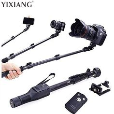 YIXIANG For Gopro Dslr Camera IOS Android Phone Selfie Stick 1288 Bluetooth Extendable Handheld Yt-1288 Tripod Monopod
