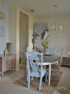 Camelot Art Creations: Refinished Dining Room Set