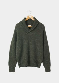 SHAWL NECK PULLOVER via TOAST // for you, @Patrick Groneman
