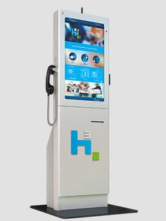 "Check out the new iKiosk in teal! This model is equipped with a 32"" monitor with the ability to house many kiosk model options. Talk with us to learn more! #touchscreenkiosk #marketingkiosk #educationkiosk #hospitalitykiosk"