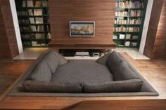 This is a sunken couch bed!!!!