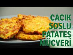 Cacıklı Patates Mücveri Tarif - YouTube