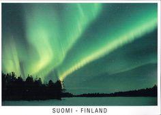 Northern Lights - Suomi, Finland