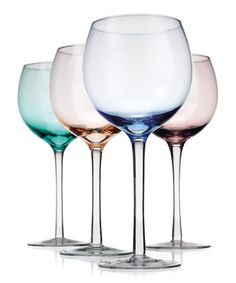 Take a look at this Tuscana White Wine Glass Set by Home Essentials and Beyond on #zulily today!