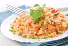 Mude a forma como você vivência o processo de alimentação. Começando por uma receita deliciosa de risoto recomendada por nutricionistas. http://www.eusemfronteiras.com.br/receita-de-risoto-de-frango-delicioso-para-toda-a-familia/ #eusemfronteiras #receitas #risoto #frango