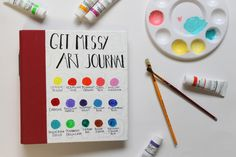 Get Messy | An Art Journal Challenge is a great place to learn new techniques, get prompts, see others' interpretations, see beautiful things, and be a part of an art journal community.