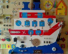 Busy Board Junta de cierre de 35 elementos por BusyBoardOlga